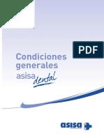 3-2015!04!07-Condiciones Generales ASISA DENTAL