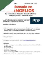 Diplomado en Evangelios 2017 Finis Terrae San Pablo