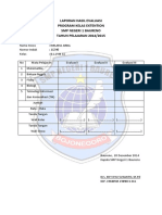 Laporan Hasil Evaluasi Kelas B-1-2014