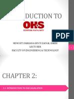 Intro to OSH