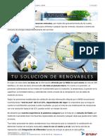 Informe Econ Instalacion Aislada Enair