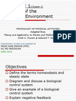 Lecture 1 (Introduction-Homeostasis)