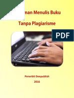 Pedoman Menulis Buku Tanpa Plagiarisme Oleh Penerbit Deepublish