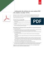 Adobe Acrobat Xi Combine Files Into PDF Portfolio Tutorial e