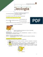 Geología, Clima y Vegetación Matorral Mediterráneo
