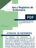 Cuidados y Registros de Enfermeria
