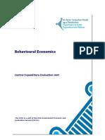 Behavioural Economics 1