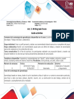 Activity Guide _Unit 2-Getting a Job!_Act. 3. Writing Task Forum