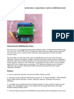 Manual M328 Version ESR Inductance Capacitance Meter Multifunctional Tester DIY