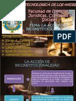 accion de inconstitucionalidad ppt