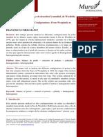 CORIGLIANO - Configuraciones de Orden (¿o de Desorden?) Mundial
