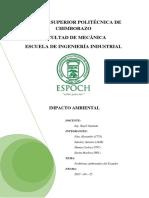 2. Problemas Ambientales Ecuador