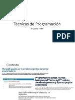 tecnicasdeprogramacion-clase1-161117015135