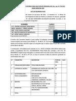 Evaluacion Curricular Del Proceso Convocatoria Interno Para Selección de Personal Del Dec
