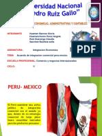 Comercio México Perú