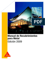 Manual Recubrimientos Para Metal_2009 SIKA