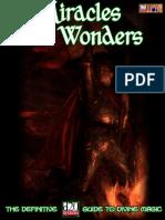 d20 Adamant Entertainment Miracles & Wonders