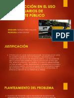 Insatisfaccion de Los Usuarios de Transporte Publico-1