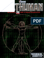d20 Adamant Entertainment Posthuman