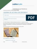 Red de Bibliotecas de Galicia - Caderno de Lectura Con Zentangle - 2016-03-31