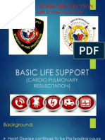 Bureau of Fire Protection first aid