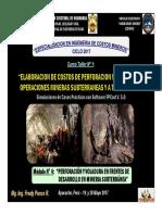 M_dulo 4 - Perforaci_n y Voladura en Frentes de Desarrollo en Mineria Subterr_nea (20-May-17)