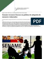 Sename reconoce fracaso en política de adopción de menores vulnerados - El Mostrador.pdf