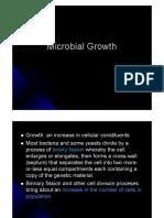 Pertumbuhan Mikrobia