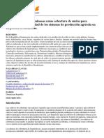 TECA - Uso y Manejo de Leguminosas Como Cobertura de Suelos Para Reducir La Vulnerabilidad de Los Sistemas de Producción Agrícola en República Dominicana. - 2015-04-17