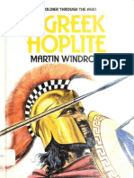 (the Soldier Through the Ages) Martin Windrow-The Greek Hoplite-Franklin Watts (1985)