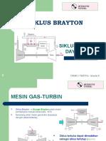 2 - Siklus Brayton (Siklus-siklus Daya Gas)