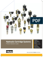 Parker Hydraulic Cartridge Systems Selection Guide