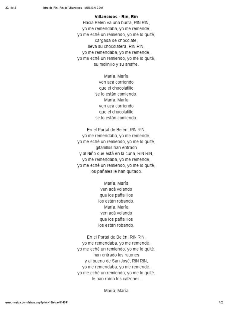 Rin Rin Cumpleaños Canciones Navideñas