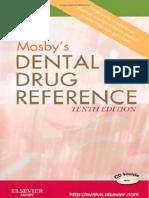 Book -MOSBY'S DENTAL DRUG  REFERENCE.pdf