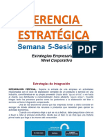 Estrategias Empresariales a Nivel Corporativo