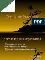 1ra Clase Gestion de Proyectos