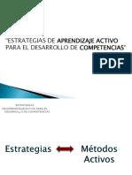 Métodos Activos Desarrollo Competencias