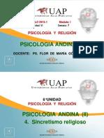 Ayuda Semana 7 Psicologia Andina II