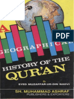 A Geographical History of the Quran