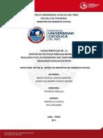 Caracteristicas de La Gestion Publicas Municipales