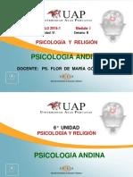 Ayuda Semana 6 Psicologia Andina