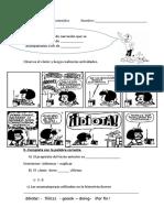 Guia Resumen Del Comic y La Fabula