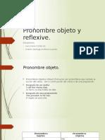 Pronombre Reflexivo/objeto