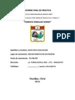 Informe Final de Practica