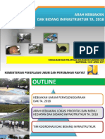[Kemenpupr] Arah Kebijakan Dak Bidang Infrastruktur Ta. 2018-2