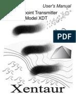 XDT Manual