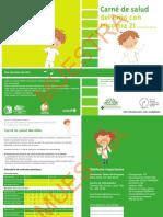 Carnet de Salud de Niños