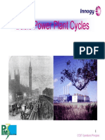 Basic Power Plant Cycles