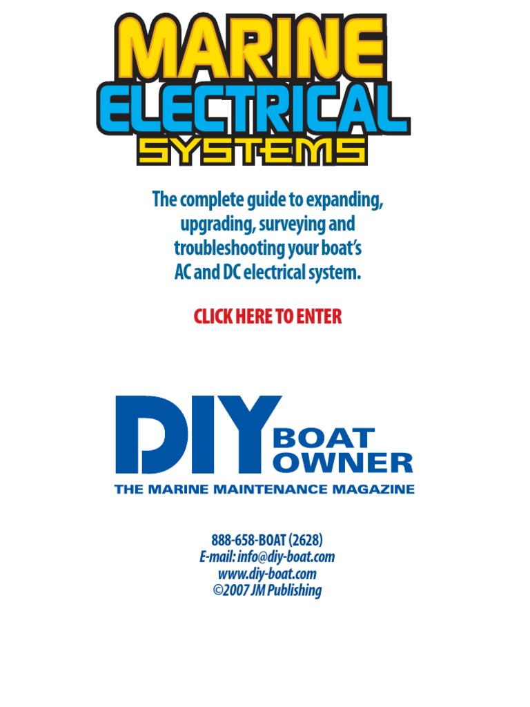 Marine Electrical Systems.pdf | Electrical Wiring | Direct Current