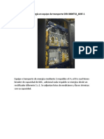 Medidas de Energía en Equipo de Transporte OSN 8800T32